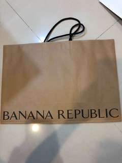 🚚 Banana Republic 紙袋