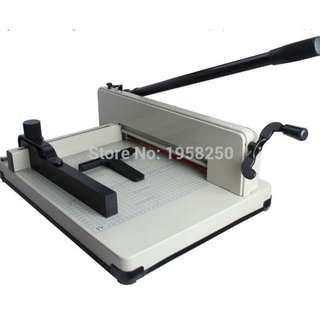 Brand new Paper Cutter for sale! With Extra 1 Blade +1 Red Pad - Heavy Duty 16KG All Metal Steel Ream Guillotine