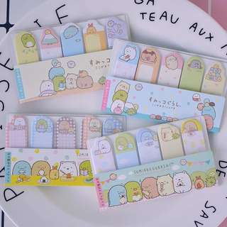 Sumikko Gurashi Sticky Memo / Post It Notes / Stick Post-it Pad / Stick Marker