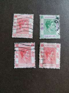香港郵票 1997年回歸前已銷郵票A002