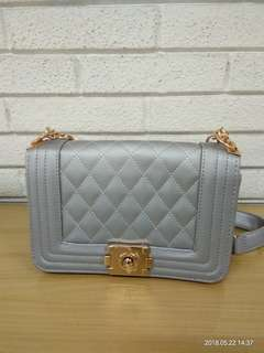 Tas Import Gray New