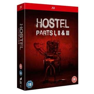 Hostel: Parts I, II and III Blu-ray