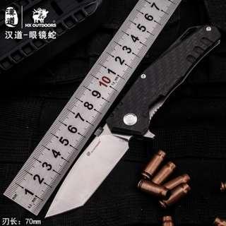 Cobra Tactical Folding Knife 眼镜蛇战术折叠刀ZD-005
