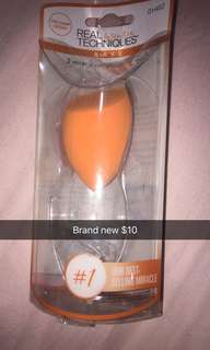 New real technique beauty blender