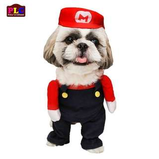 Free sf Super mario dog costume