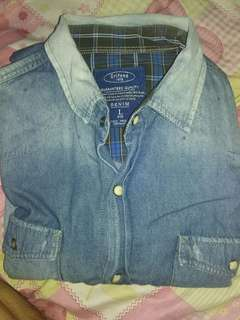 Baju grifone denim asli