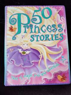 50 princess stories by Miles kelly