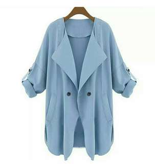 Powder Blue Outerwear