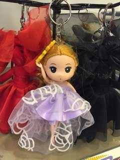 Charm Doll Keychain