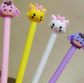Pulpen karakter, ini pulpen gel ya ka