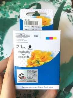 影印機/打印機 黑色墨盒 墨水 ink 21XL C9351C