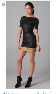 ALC Leather Dress