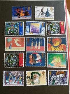 英國郵票 已銷郵票A005