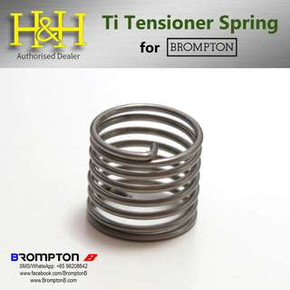 H&H Titanium Spring for Brompton Chain Tensioner