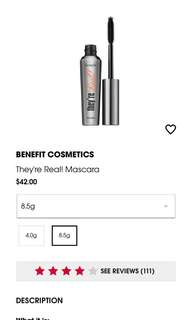 Benefit They're Real Mascara full size