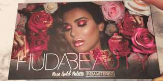 Huda Beauty Rose Gold Palette Remastered