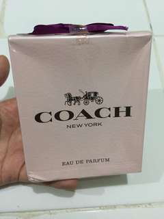 Parfume coach ori new