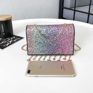 Colourful glitter bag #shopmycarousell