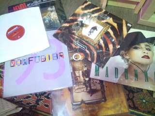 """7"""" 12"""" Vinyl Records, LPs"""