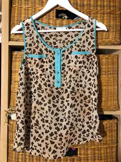 blouse kutung leopard