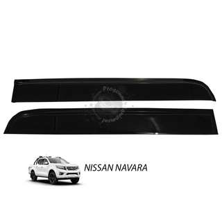 COSMO VISOR NISSAN NAVARA 2015 DOOR VISOR (MEDIUM)