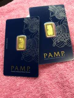 Pure Gold Bars - ( 999 Gold Series ) + others ❤️❤️