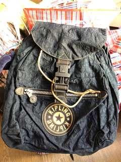 Kipling backpack dark blue