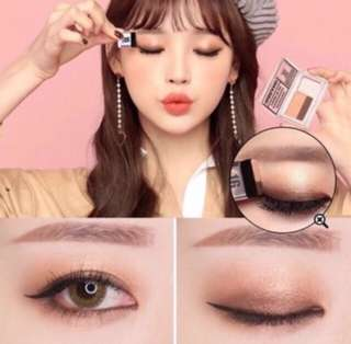 Korean 16 Brand Magazine Eyeshadow.