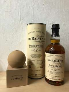 The Balvenie 12 year old Double Wood+Ice Ball Set