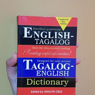 English-Tagalog and Tagalog-Engligh Dictionary