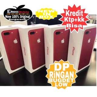 Iphone 7 Plus RED Apple-128GB Kredit Dp 4jt  ditoko ktp+kk call/wa;081905288895