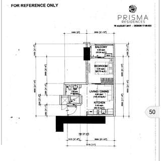 pre Selling 1 bedroom condo in Pasig for sale by DMCI Prisma Residences 32sqm near SM Megamall Tiendesitas C5 SM Aura Market Market BCG & Ortigas CBD