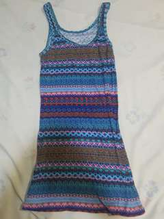 Mossimo Aztec Colorful Tank Top