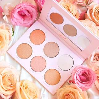 Bad Habit Rose Highlight Palette (Dupe for ABH x NICOLE GUERRIERO GLOW KIT)