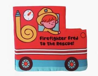 嬰幼兒早教消防員布書