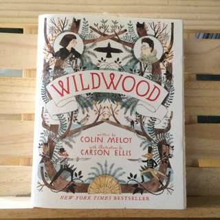 Wildwood Book 1 by Colin Meloy, illustrated by Carson Ellis