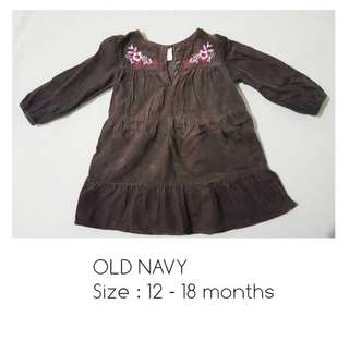 OLD NAVY Kids Dress   12- 18mons