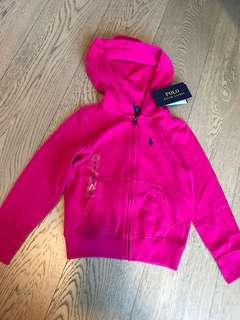 女童外套 Pink jacket hoodie [全新嬰兒用品低放] bb 女幼兒 polo 3t