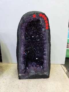 紫水晶洞 寬20,高38