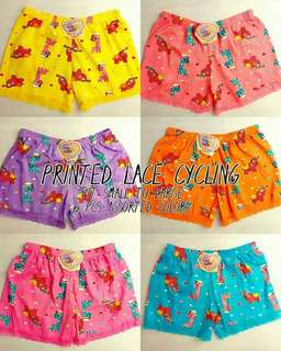 Printed Lace Cycling