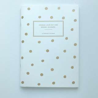 Lined notebook (made in korea)