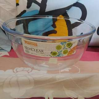 全新法國製造Thomas By Rosenthal Group可入微波爐洗碗碟機耐熱耐冷(-40-+300度)無蓋玻璃碗 2L 參考網址: http://www.groupbuya.com/mobile/mjetso?id=35112