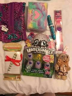 Kids bundle toys. 7 items.