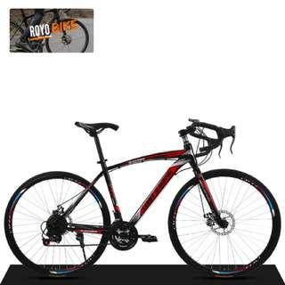 "➡ XTG Limit Racing 26"" Carbon Steel 21-Speed Hydraulic Brakes Road Bike  - $228"