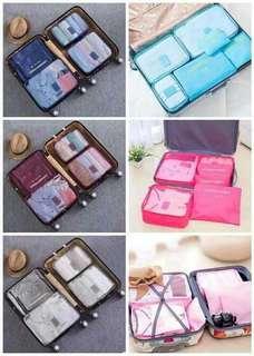 Luggage organizer 6 in 1