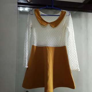 Korean type dress