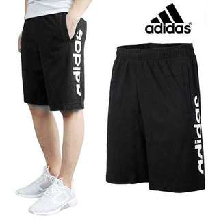 🚚 保證正品✨ adidas essential Linear shorts 愛迪達 膝上 棉 短褲 男褲
