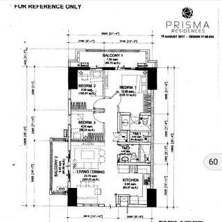pre Selling 3 bedroom condo in Pasig for sale by DMCI Prisma Residences near SM Megmall MRT Shaw BGC & Ortigas CBD SM Aura Market Market