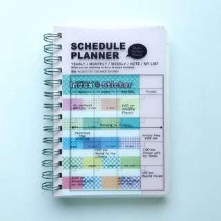 Schedule planner (made in korea)