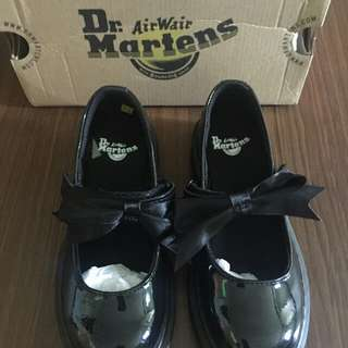Dr. Martens Black Shoes for Girls
